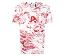 """T-Shirt mit """"Sea Storm""""-Print"""
