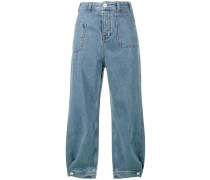 Klassische Cropped-Jeans - women - Baumwolle