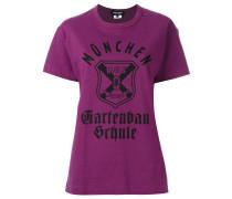 T-Shirt mit Wappen-Print