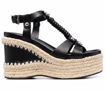 Sandalen mit Wedge