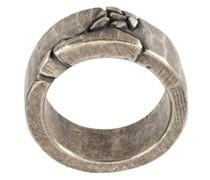 Geprägter Silberring
