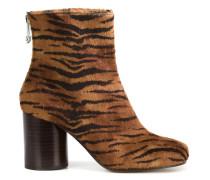 'Tabi' Stiefel mit Tigermuster