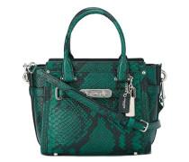 Handtasche mit Schlangenleder-Effekt