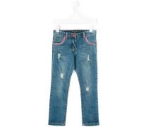 - Jeans in Distressed-Optik - kids