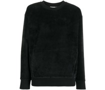 Sweatshirt aus Velours