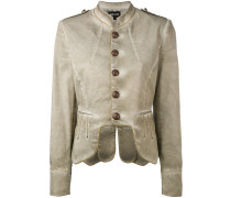 Military-Jacke mit Paspelierung