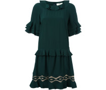 shortsleeved ruffle dress