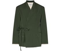 Kimono-Jacke im Wickelstil