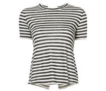 A.L.C. Gestreiftes Leinen-T-Shirt