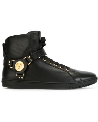 Versace Herren High-Top-Sneakers mit Klettverschluss Verkauf 6nKe0qZ