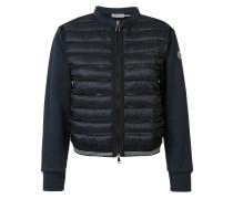 Cropped-Jacke mit wattierter Vorderseite