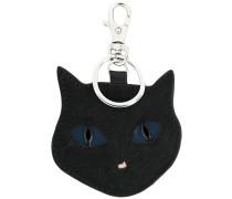 Schlüsselanhänger mit Katzengesicht