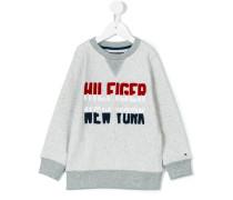 Sweatshirt mit LogoApplikation