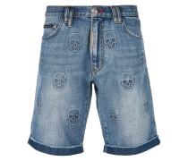 Power Trip denim shorts