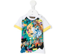 - T-Shirt mit Löwen-Print - kids