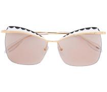 Quadratische Cat-Eye-Sonnenbrille
