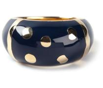 'Rive Gauche' 18kt vergoldeter Ring