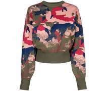 Pullover mit Camouflagemuster