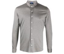 Geknöpftes Jerseyhemd