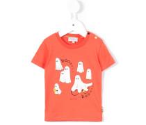 T-Shirt mit Geister-Print - kids - Baumwolle