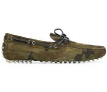 Loafer mit Camouflagemuster