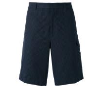 Cargo-Shorts mit Nadelstreifenmuster