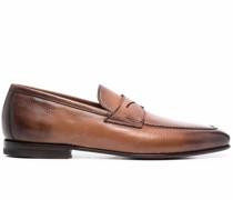 Penny-Loafer aus Leder