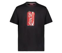 T-Shirt mit Soda-Print