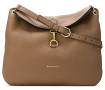 hook-on fastening shoulder bag