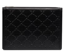 GG embossed pouch