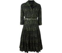 """Ausgestelltes Kleid mit """"Leaves""""-Print"""