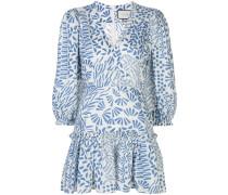 'Idony' Kleid mit abstraktem Print