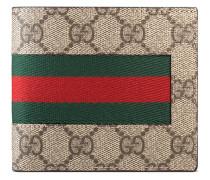 Portemonnaie mit Monogrammmuster