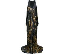 ormalu printed draped gown