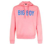 Big Boy print hoodie