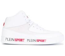 High-Top-Sneakers mit Logo-Print