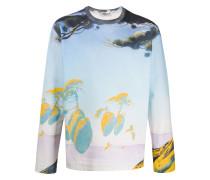 "Sweatshirt mit ""Floating Island""-Print"
