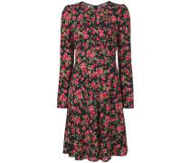 Kleid mit Rose-Print