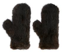 Handschuhe mit Pelzbesatz