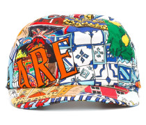 Sicily print baseball cap