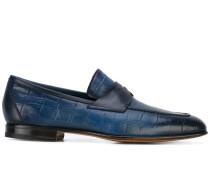 - Loafer in Krokodilleder-Optik - men - Leder - 7
