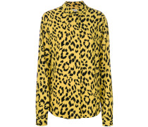Hemd mit Leopard-Print