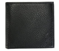 Faltbares Portemonnaie aus gekörntem Leder