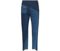 'Lucie' Jeans im Patchwork-Look