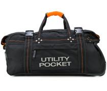 Reisetasche mit Kontrastnaht