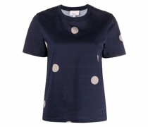 T-Shirt mit Polka Dots