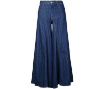 Jeans mit weitem Schnitt - women - Baumwolle