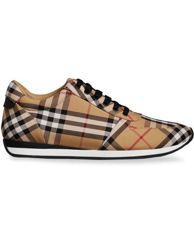 """Sneakers mit """"Vintage""""-Karomuster"""