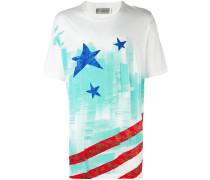 Oversized-T-Shirt mit Print - men - Baumwolle