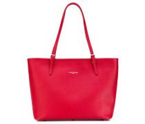 Shopper mit Logo-Stempel - women - Kalbsleder